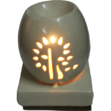 Aroma Oil Burner - Electric Oval With 10 G Oil | Brahmz