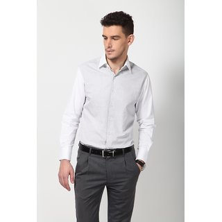 Dazzio Men's Smart Casual Shirt - Grey