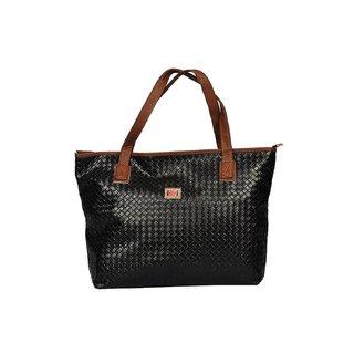 Designer, Imported PU Leather Shoulder  Hand Bag For Women Black
