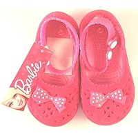 Barbie - Pink Bow Ballerinas(Size-24)16.6Cms
