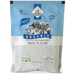 24 Mantra Ragi Flour 500 Gms (Pack Of 2)