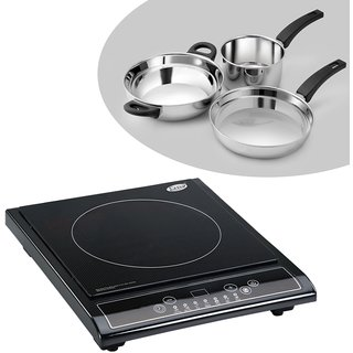 GL 3070 EX Induction Cooktop + Alda SS Gift Set - 3 pcs