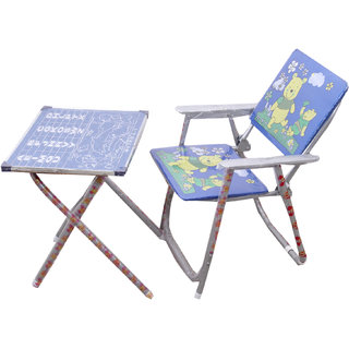 Kids Table Chair Blue Small