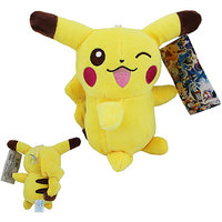 17cm Cute Pokemon Pikachu Soft Plush Stuffed Teddy Doll Toy Suction Cup #3