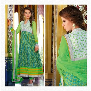 Latest Designer Ethnic Bollywood Anarkali Salwar Suit DUAS3012B