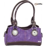 Sensation Designer Ladies Hand Bag Purple