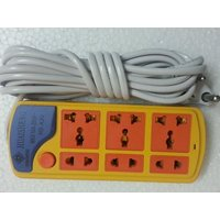 HUAISHENG Super 6 Port Power Strip Extension Cords Spike Buster