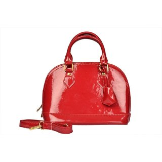 Creamy Red Fashionable Shoulder Bag