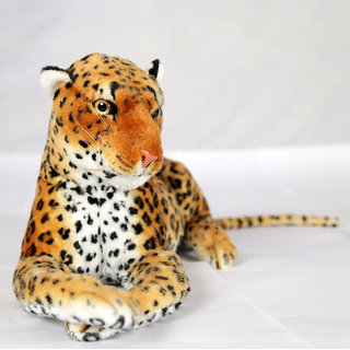 Deals India giant brown Leopard animal -49 cm