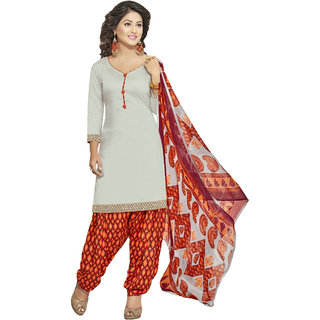 Lovely look Grey Printed Un-Stitched Patiyala Suit LLKKFRPSP1212004