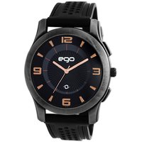 Maxima EGO  attivo Mens Black  Black Analogue watchE-40403PAGG