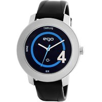 Maxima EGO  attivo Mens Black  Black Analogue watchE-40451PAGI