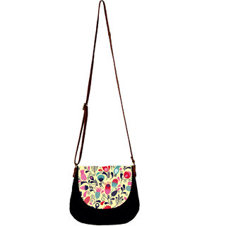 Barisa Epic Multicolor Canvas Cloth Casual Sling Bag - BESB57