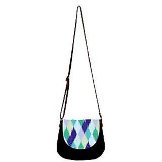 Barisa Epic Multicolor Canvas Cloth Casual Sling Bag - BESB69