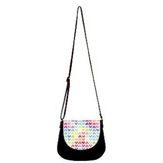 Barisa Epic Multicolor Canvas Cloth Casual Sling Bag - BESB71