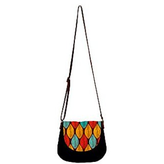 Barisa Epic Multicolor Canvas Cloth Casual Sling Bag - BESB76
