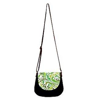 Barisa Epic Multicolor Canvas Cloth Casual Sling Bag - BESB78
