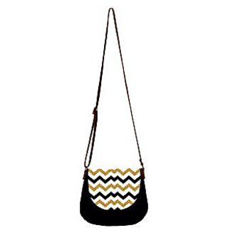 Barisa Epic Multicolor Canvas Cloth Casual Sling Bag - BESB81
