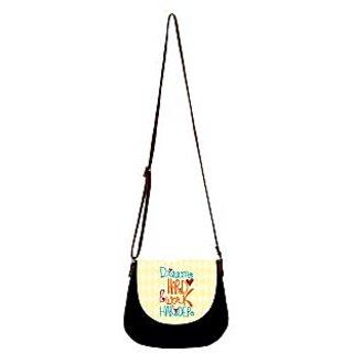 Barisa Epic Multicolor Canvas Cloth Casual Sling Bag - BESB95