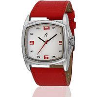 Yepme Womens Analog Watch - White/Red