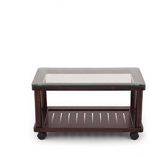 Wooden tea table with glass top buy wooden tea table with for Glass tea table price