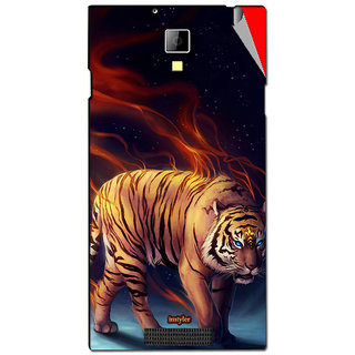 Instyler Mobile Skin Sticker For Karbonn Titanium Octane