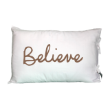 Believe - Pillowcovers- Daily Greetings - Gifts-Set Of 2 Pcs
