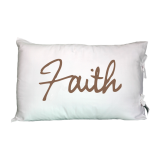Faith- Pillowcovers- Daily Greetings - Gifts-Set Of 2 Pcs