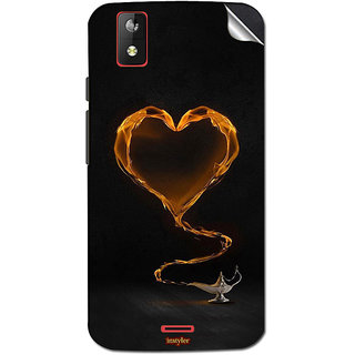 Instyler Mobile Skin Sticker For Karbonn Sparkle V
