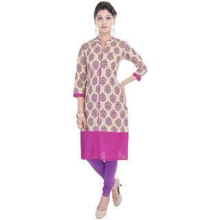 Beautiful Cotton Pink Kurti From The House Of Gujari