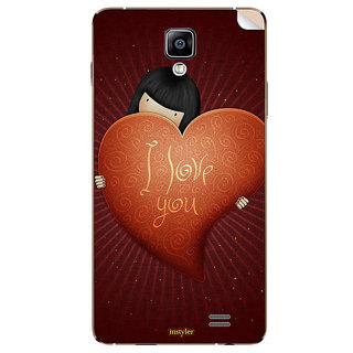 Instyler Mobile Skin Sticker For Karbonn Quattro L50
