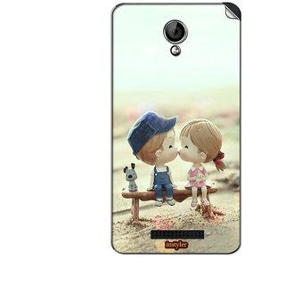 Instyler Mobile Skin Sticker For Karbonn S204 Titanium Dazzle 3