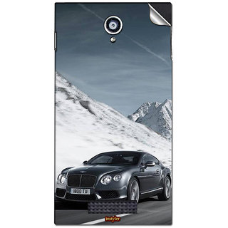 Instyler Mobile Skin Sticker For Karbonn Platnum P9