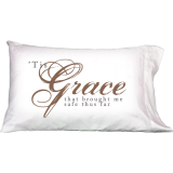 Tis Grace That Brought Me Safe Thus Far- Pillow Covers - Gifts-Set Of 2 Pcs