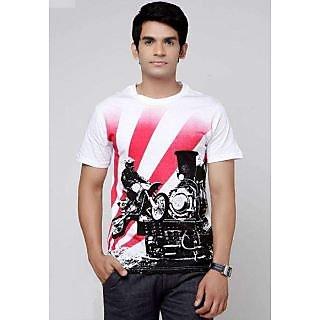 Mens Cotton Graphic T-Shirt