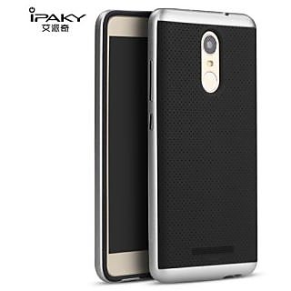 Redmi Note 3 iPaky Premium TPU+PC Hybird Armor Protective Back Bumper Case Cover for -Silver