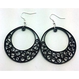 Paper Quilling Hooped Earring Designs And Collections