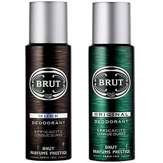 Brut Musk Original Body Spray - For Men (200 Ml)