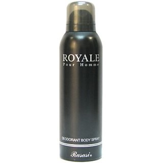Rasasi Royal Pour Homme Deodorant Spray - For Men (200 Ml)