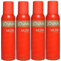 Jovan Live It ComboS In Deo The Pure Musk Body Spray - For Girls, Women (600 Ml)