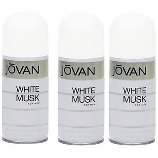 Jovan Iovan White Musk Deodorant Spray Men-150-Ml Body Spray - For Boys Men (150 Ml)