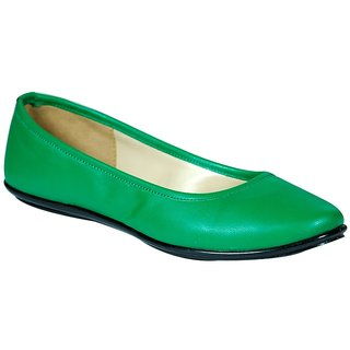 STYLAR Katrina Ballerinas (Green)