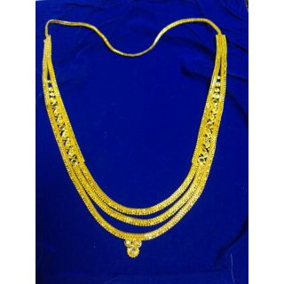 Gold Plated White Metal Long Chain Type 1