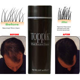 TOPPIK HAIR BUILDING FIBER BLACK COLOUR 25GRAMS&!!