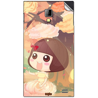 Instyler Mobile Skin Sticker For Karbonn A11 Star MSKARBONNA11STARDS10058