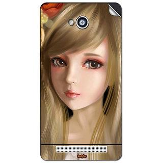 Instyler Mobile Skin Sticker For Karbonn A-6 MSKARBONNA6DS10068