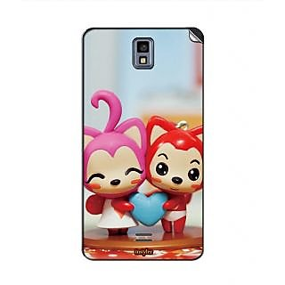 Instyler Mobile Skin Sticker For Karbonn A4 Plus MSKARBONNA4PLUSDS10065