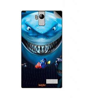 Instyler Mobile Skin Sticker For Karbonn A6 Tarbo MSKARBONNA6TARBODS10054