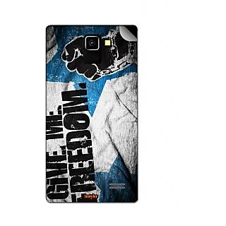 Instyler Mobile Skin Sticker For Karbonn A7 Star MSKARBONNA7STARDS10154