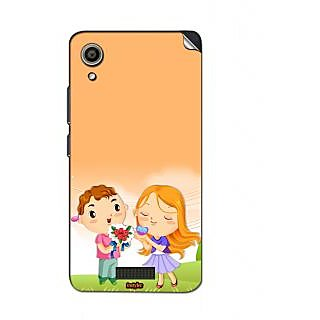 Instyler Mobile Skin Sticker For Lava Iris X9